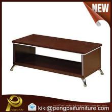 Cheap hot sale wood office coffee tea table