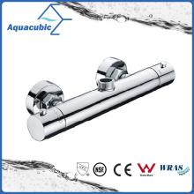 Bathroom Shower Brass Chromed Anti-Scald Thermostatic Tap (AF4122-7)