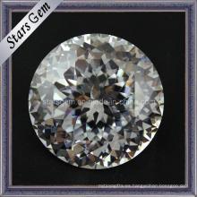 Redonda brillante europea máquina de corte de piedra cúbica de circonio