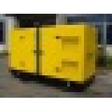 Dossel à prova de som diesel do grupo de gerador de 200kVA 160kw CUMMINS