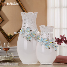 Made in China flower vase top quality luxury flower ceramic pottery floor home decoration flower vase