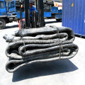 Floating inflatable rubber balloons floating dock ship launching marine airbags for pontoon