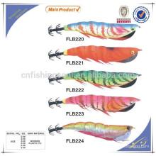 FSQL006 chine en gros alibaba pêche leurre composant moule artificiel calmar