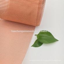 Malla de alambre de cobre del latón / del rojo del precio bajo de la mejor malla de 80 120 China