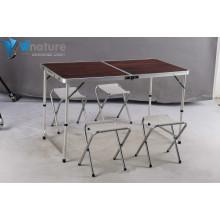 Camping Furniture -Aluminium Camping Table & Chair Set