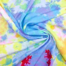 New Tie Dye Rayon Plain Print Fabric