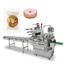 automatic sesame donut piillow bag packing machinery