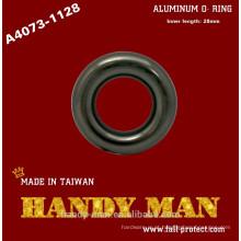 A4073-1128 Para guia de corda Alumínio anel pequeno