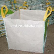 Fabricação de saco grande mais barato, saco de defletor em massa / saco para areia / produtos químicos polipropileno sacos de contêiner de tecido