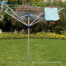 4-Arms Garden Umbrella Alumínio Roupas Rotary Airer