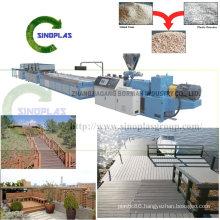 Wood Plastic Profile Extrusion Line