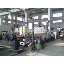CE marks compounding Twin screw plastic extrusion machine price underwater cutting