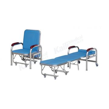 Hospital Sleeping Accompany Chair Klappbarer Edelstahl