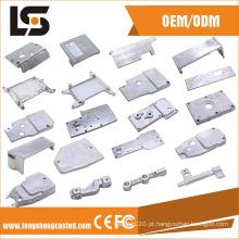 Várias peças de máquina de costura de alumínio para tampa lateral