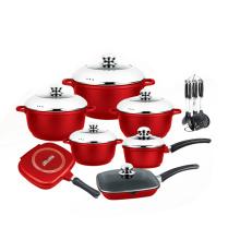 Ensemble de casseroles antiadhésives Nice Design Die Casting