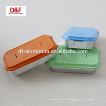 Fast Food Aluminiumfolie / Behälter mit Deckel