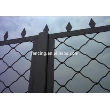 Malha de arame de grade bonita galvanizada ou cerca de Meg, redes para proteção de caminho alta