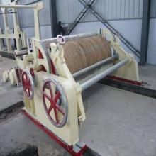 Завод крафт-бумаги горизонтальный пневматический намотчик