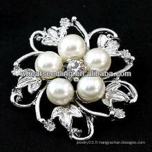 Bijoux fantaisie bijoux fantaisie Broche feuilles BH40