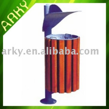 Good quality Wooden Outdoor Dustbin