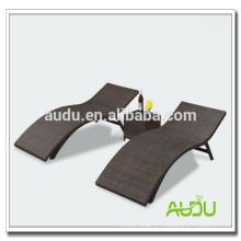 Audu Niza tejido de aluminio al aire libre Lounge Chair de playa