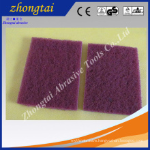 kitchen abrasive cleaning sponge scouring pad , scrubber scouring pad