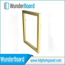 Bilderrahmen für Wunderboard Sublimation HD Metalldrucke