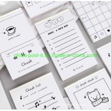 Creative Design Memo Pads of Customized