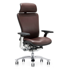 modern aluminum chair high end expensive boss leather chair office executive chair
