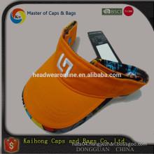 High quality sun visor from dongguan OEM hat factory