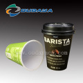 Hot Coffee Cup Milktea container with lid