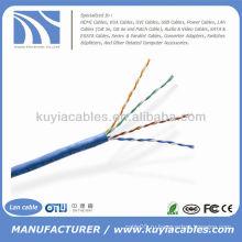 1000FT Cat5e UTP сплошной белый сетевой кабель Ethernet