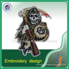 Iron-on Backed Custom Embroidery Design Patch