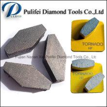 Шестигранник Металлический Сегмент Алмазный Наконечник Пол Шлифовальные Сегмент