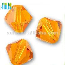 Preço de atacado Grade de Vidro De Cristal Bicone Beads 4mm