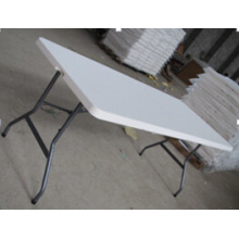Hot Selling HDPE Plastic Folding Table