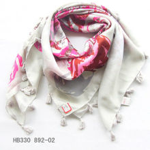 fashion pendant square scarf
