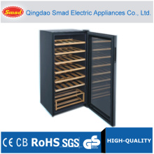 45 Bottles Compressor Wine Cooler with Wire Shelf/Wooden Shelf