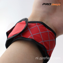 LED-licht Nigh Vision Red Plaid-armband
