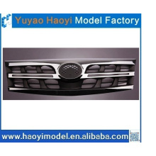 cnc rapid prototyping car chrome front grille plastic model made in china