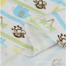 Été enfants de flanelle de coton respirant nourrissons couvertures pour bébés