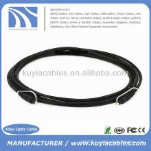 Câble audio optique Toslink 5.0mm OD de 6 pi