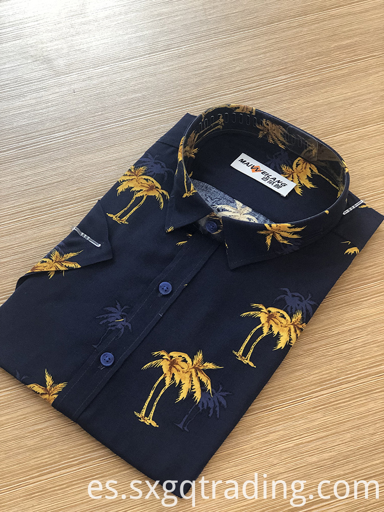 100% viscosa shirt for men