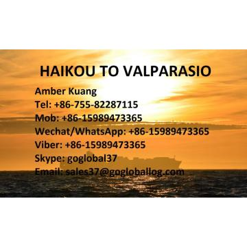 Hainan Haikou Sea Fright au Chili Valparasio
