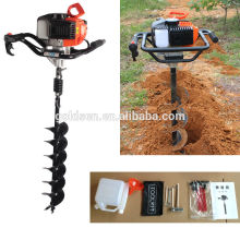 52cc 1700w mão-Held Terra Soil Hole Drilling Machine Auger broca de solo portátil