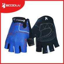 Schwarze Half Finger Crossfit Hands Handschuhe zum Reiten