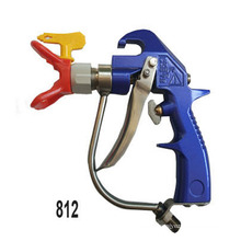pistola de pintura sem ar mal ventilada pistola sprya 812
