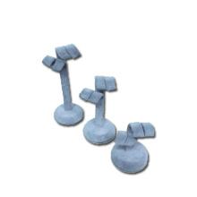 Grey Velvet Earring Display Set Wholesale (ES-STG3)
