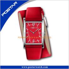 Montre de mode unisexe Virtecal Watch avec bracelet en cuir doublé