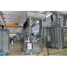 Подстанция напряжением 132 кВ с регулятором напряжения s